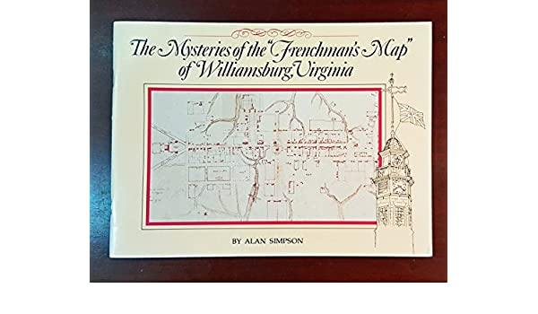 Mysteries of the Frenchmans Map of Williamsburg Virginia Amazon