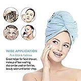 Promise2134 Microvezel-haardoek, droogwikkel, voor dames, met knop, Quick Dry Magic Hats, superabsorbens voor lang krullend haar, Quick Magic Hair Dry Hat