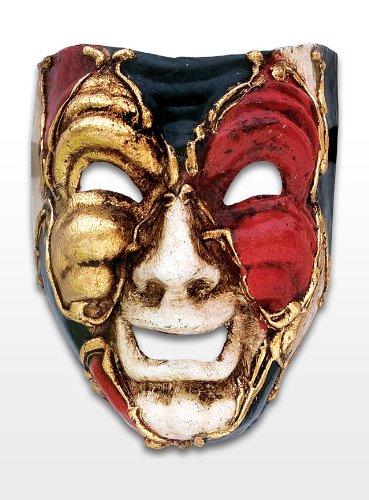 Commedia Arte Dell Kostüme (Volto ridi mini scacchi colore Venezianische)