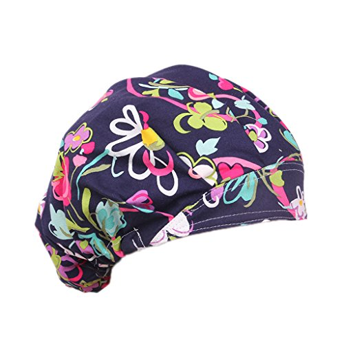 MagiDeal Sombrero de Algodón Casquillo Gorro Hat Bouffant Scrub Cap One Size  - 1 d95fac3b7d18