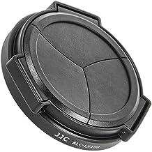 JJC Tapa De Lente Automática, Cubierta Delantera para Panasonic LUMIX DMC-LX100 - ALC-LX100 Negro