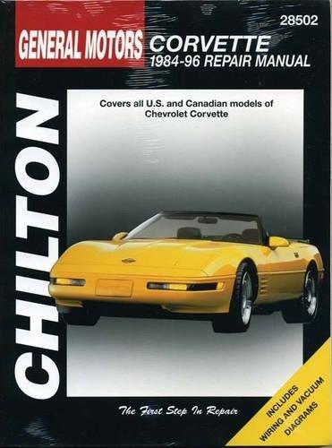 Chevrolet Corvette (84 - 96) (Chilton's Total Car Care Repair Manual)