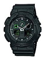 Casio G-Shock – Reloj Hombre Analógico/Digital con Correa de Resina – GA-100MB-1AER de Casio