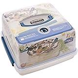 Lock & Luftdicht Bewegliche Plastikkuchenschachtel 12.6L Sperren - Packung mit 4