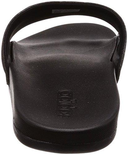 adidas Adilette Cloudfoam Plus Stripes, Scarpe da Spiaggia e Piscina Uomo Nero (Core Black/footwear White/core Black 0)
