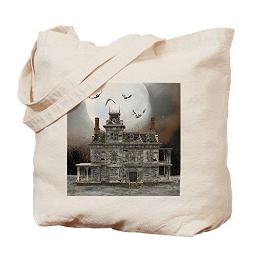 CafePress Halloween-Tragetasche, canvas, khaki, S (Dies Ist Halloween-alptraum)