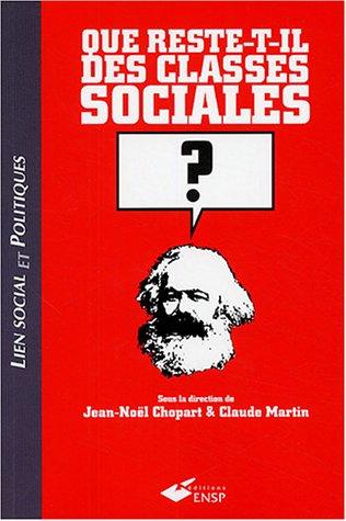 Que reste-t-il des classes sociales ?