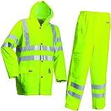 Lyngsoe LR552/53/M Veste/Pantalon Taille M Fluo Jaune
