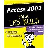 Access 2002 pour les nuls