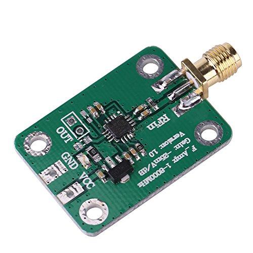 1-8000MHz AD8318 RF Logarithmischer Detektor, 70dB RSSI Radio Frequenz Messleistungsmessgerät Detektor Radio
