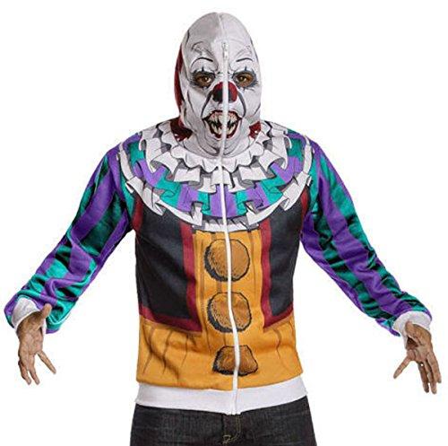 Kostüm (Hoodie) Stephen King´s IT Pennywise - RUB881557 XS (Pennywise Hoodie)