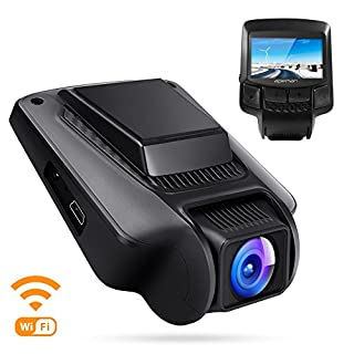 apeman Dashcam WiFi Full HD 1080P Autokamera mit APP Sony IMX323 Sensor 2.45