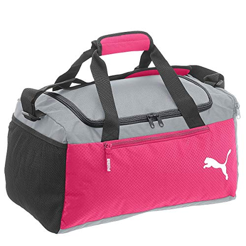 Puma Fundamentals Sports Bag S Sac Mixte Adulte, Beetroot Purple-Steel Gray, OSFA