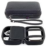 Noir Étui de transport Pour HP Sprocket Polaroid ZIP PicKit M1 LG Fujifilm Instax SP-2 Imprimante photo portable portative Mini Pocket Avec compartiment pour accessoires