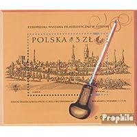 Prophila Collection Polonia Block145A (Completa.edición.) 2001 filatelia (Sellos para los coleccionistas)