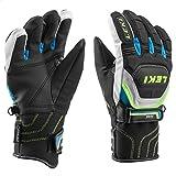 Leki Worldcup Race Coach Flex S GTX Junior Handschuhe, schwarz-gelb, Gr. 4,0