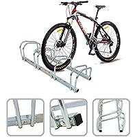 Todeco - Puesto de Bicicletas, Soporte para Aparcar Bicicletas - Tamaño: 99 x 32