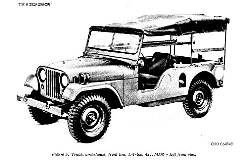 four-4-wwii-and-vietnam-era-jeep-manuals-willys-overland-model-mb-ford-gpw-m38a1-m38a1c-m170-repair-