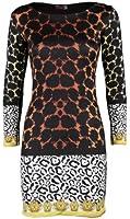 (womens Nicki Minaj multiple colour leopard print dress(mtc) Femmes Nicki Minaj de multiples couleur imprimé léopard robe