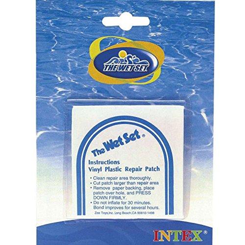 Intex Pool Reparaturflicken - 6 Stück -  Transparent -  19 x 15 x 13 cm