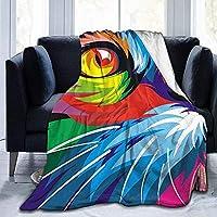 """tyutrir Rainbow Pet Cat Ultra-Soft Cozy Micro Plush Fleece Blanket Warm Fuzzy Couch Throw Blanket Luxurious 60""""x50"""""""