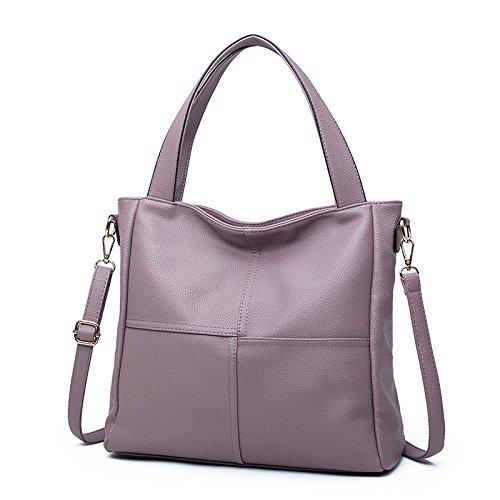 Mefly Neuen Handtasche Tasche Nähen Tidenhub Purple