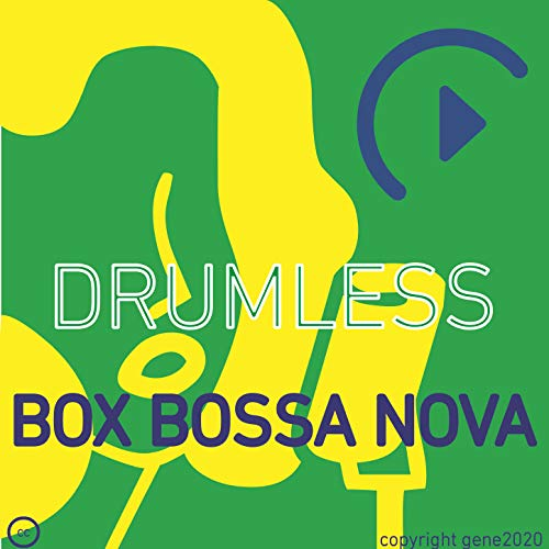 Drumless Bossa Nova Backing Track - (Click) BPM 57.5 - Bb Major 7 - 57.5