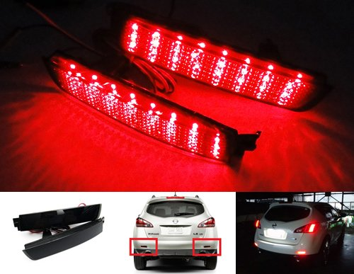 2x-luffy-black-smoked-lens-rear-bumper-reflector-led-tail-stop-brake-light-for-nissan-juke-murano-in