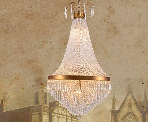 Lampadari di lusso lustre cristal lamparas lampadario soggiorno apparecchi di illuminazione lampada di rame