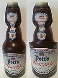 09#041819 Schokolade, Bierflasche, in 0,33 l Größe, Vatertag, Potts, Bier, Bierflasche aus Schokolade, Schokoladenbierflasche