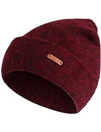 Amazon.es  Morado - Gorros de punto   Sombreros y gorras  Ropa 41f2d6f23c9