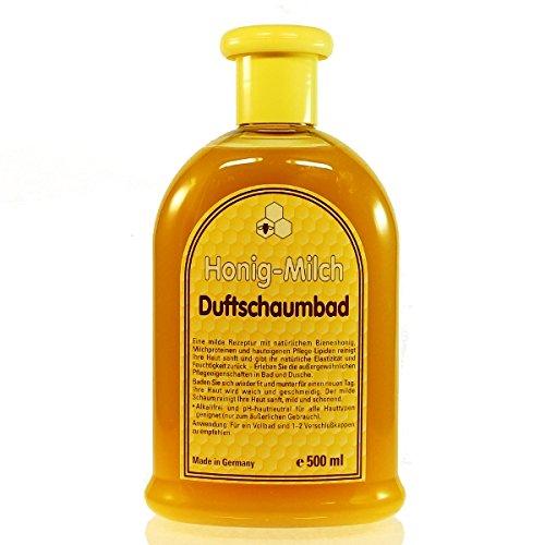 Milch Schaumbad (Honig Milch Duftschaumbad (500ml) Schaumbad Honig Milch)
