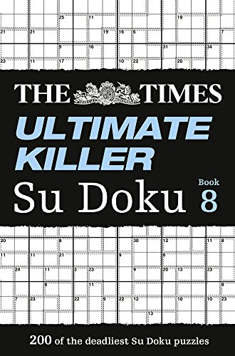 The Times Ultimate Killer Su Doku Book 8 por The Times Mind Games
