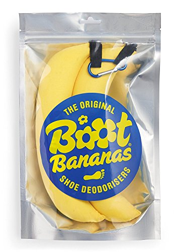 Preisvergleich Produktbild Boot Bananas Shoe Deodorisers – Angenehm riechende und Feuchtigkeit absorbierende Schuherfrischer für Kletterschuhe, Laufschuhe und andere Käsefüße!