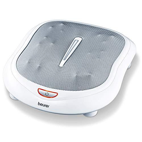 Beurer FM 60 Fußmassagegerät, 18 Massageköpfe, Wärmefunktion, 2 Geschwindigkeiten, durchblutungsfördernde Shiatsu Massage