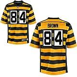 84 Antonio Brown Trikot Pittsburgh Steelers Jersey American Football Shirt Mens