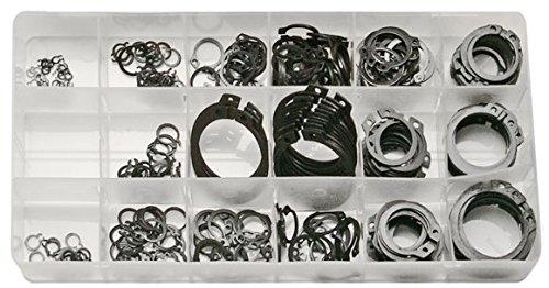 SW-Stahl seege Anneau assortiment, 300 Pièces, 6-32 mm, pour anneaux extérieurs, s8046