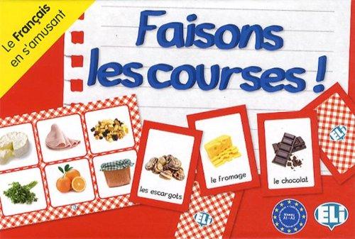 Faisons les courses ! : Le français en s'amusant