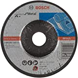 Bosch 2 608 603 182  - Disco de desbaste acodado Standard for Metal - A 24 P BF, 125 mm, 22,23 mm, 6,0 mm (pack de 1)