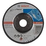 Bosch 2 608 603 182  - Disco de desbaste acodado Standard for Metal - A 24 P BF, 125 mm, 22,23 mm, 6,0 mm (pack de 1)
