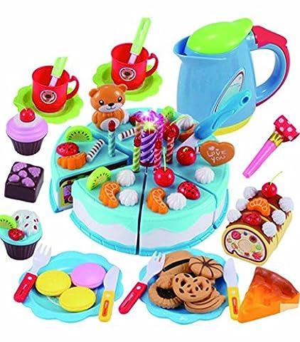 Kochen Spielzeug Küche Spielzeug Kinder Küche Zubehör Spielzeug Essen (Küche Pretend Spielset)