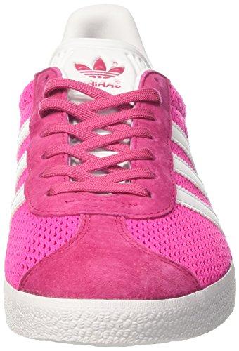 adidas Gazelle, Scarpe da Ginnastica Uomo Rosa (Shock Pink/footwear White/shock Pink)