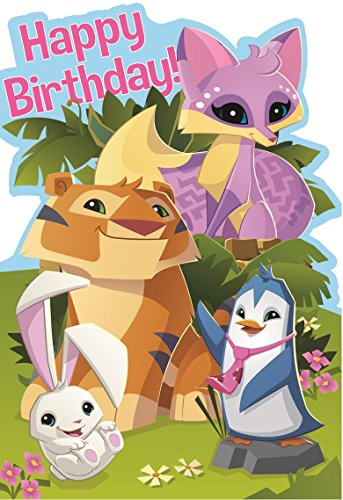 Official Animal Jam Happy Birthday Card
