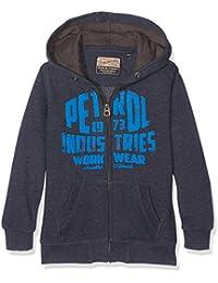 PETROL INDUSTRIES Swh850, Sweat-Shirt à Capuche Garçon