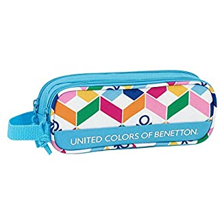 Estuche Benetton Geometric Doble