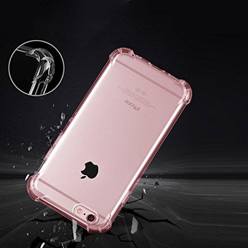 """xhorizon [Ultra Hybrid] [Air Cushion] Shock-Absorption Stoßfänger und Anti-Scratch Clear Zurück Ultra-schlanke Schutz-Clear Cover mit versteckten Card Slot für iPhone 6 Plus/iPhone 6S Plus[5.5""""] #5"""