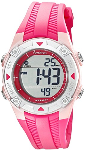 armitron-sport-womens-45-7052pnk-digital-textured-pink-resin-strap-watch