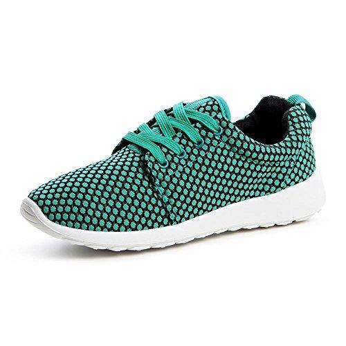 topschuhe24674Femme Sneaker Chaussures de sport Vert - Vert