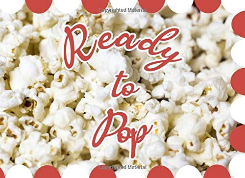 Ready To Pop: Baby Shower Guest Book | Fun retro popcorn design | Gender neutral colors | Ideal for gender reveal parties | 250 guests and their compliments - 250 Fitness-studio