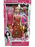 #9: Babytintin™ Fashion Doll Girl Makeup Set Wardrobe Dresses Doll Set For Little Princess (Dress & Design May Vary)